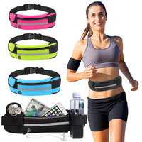 New outdoor anti-theft belt waterproof mobile phone multi-function running sport waist bag