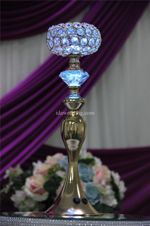 Ida flower vase crystal table centerpiece mermaid