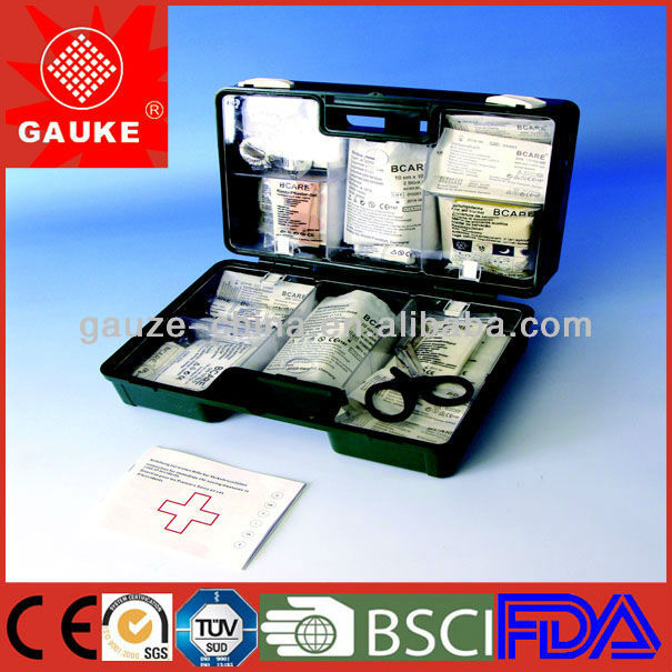 Professional New Version DIN13157-2009 German Standard First Aid Kit for Factory 50 Persons - 2014.04.09