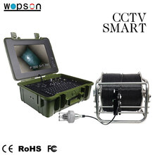 Pan tilt Customizable Borescope Underwater Deep Water detection Camera arm boat drill