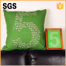 2015 new arrival cheap image girl cushion cover for chair seat