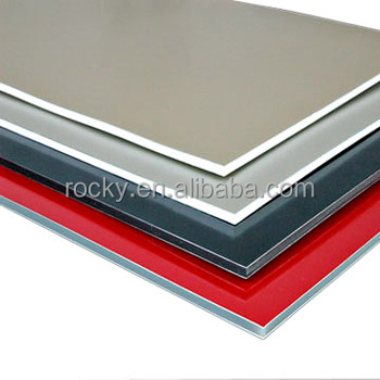 Different color 3mm 4mm pvdf aluminium composite panel