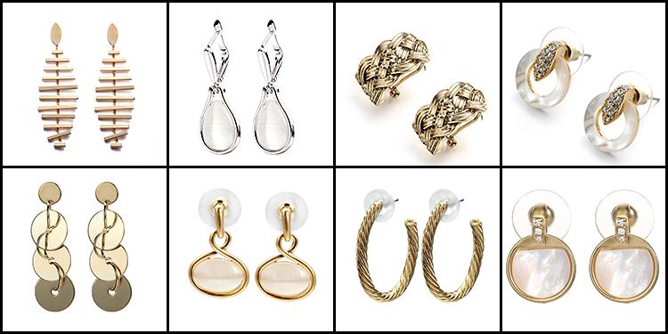 AIDAILA Fashion Jewellery 2019 Aretes Twisty Metalen Zirkoon Acryl Kwastje Oorbellen aretes