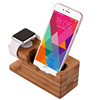 Family use custom made wood office gift wood cell phone stand with good quality
