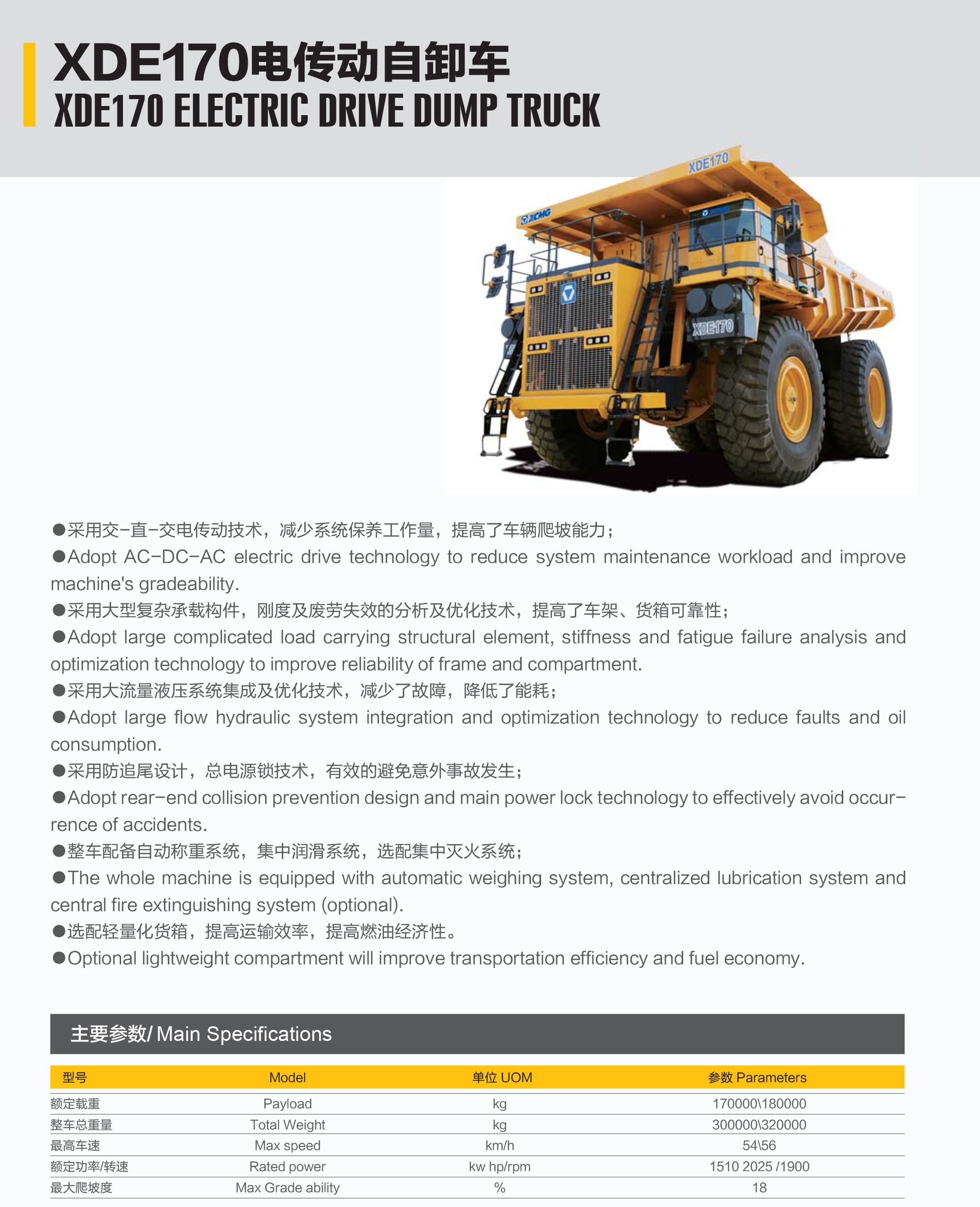 Xcmg Xde 170 Used Dump Trucks For Sale By Owner Buy Used Dump