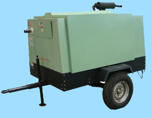 mobile screw air compressor for mining