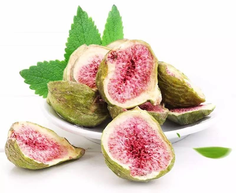 Cripy Verde Fruto Delicioso Lanches Liofilizado Fig