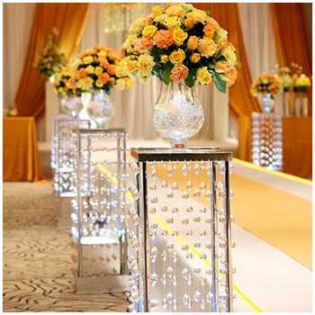 Lighted Aisle Stands Weddings/flower Pillars Stands /crystal ...