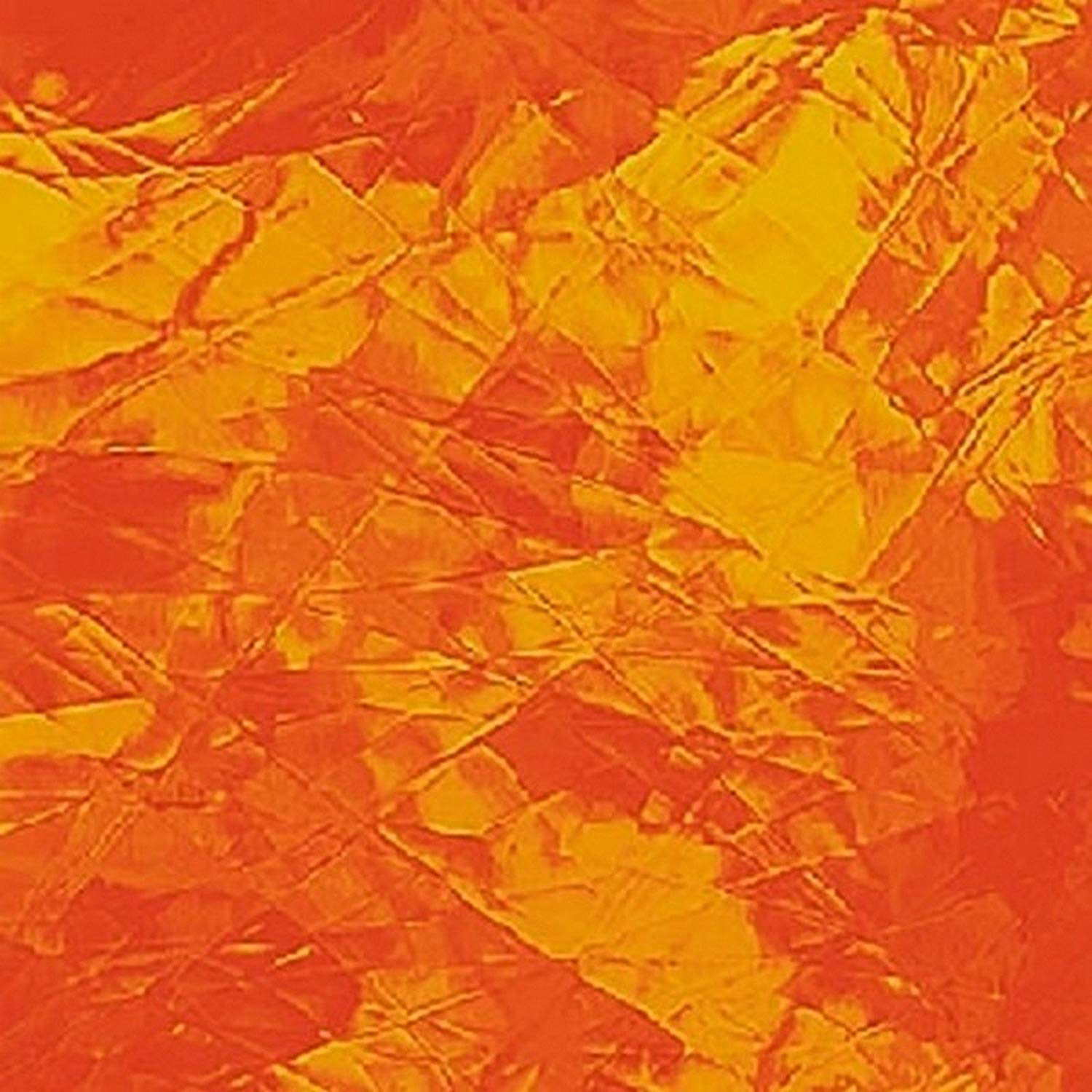 Spectrum Amber Stained Glass Sheet By Stallings Stained Glass 8 X 12 .67sf