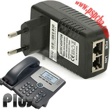 Power Over Ethernet adaptador POE, POE injector para voip telefone (CE ROHS FCC aprovados)