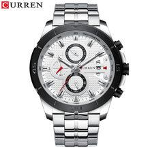 Часы CURREN Мужские, кварцевые, водонепроницаемые(Китай)