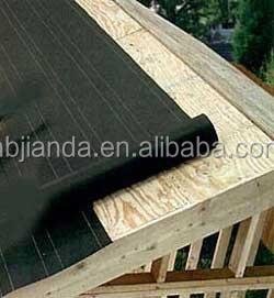 Grade D Type I Roofing Felt Paper Asphalt Saturated