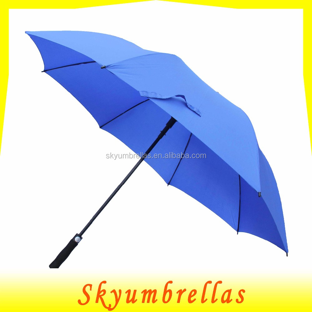 Automatic Open Large Outdoor Golf umbralla Rain&Wind Repellent Sun Protection Stick Umbrallas