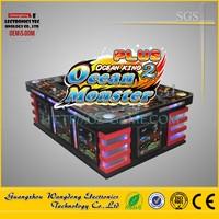Wangdong igs original fish scoring game machine, quick earning money ocean monster 2 skill fishing game