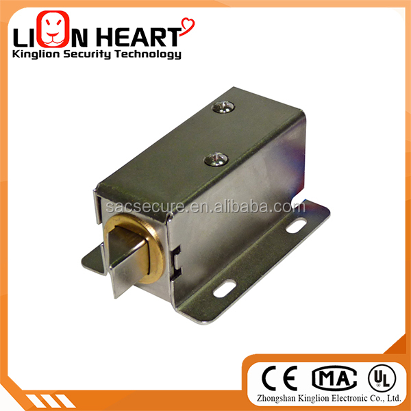 DC 12V Open Frame Type Solenoid for Electric Door Lock