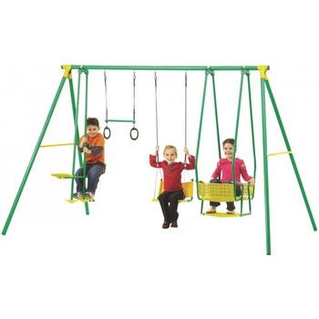 Kids Garden Metal Swing Sets