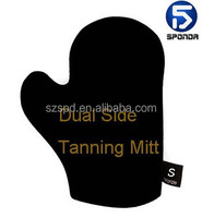 UK Patent-free skin care Tanning Applicator Mitt with moussee or lotion for sunless fake tan