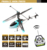 Outdoor remote control helicopter gasoline up/down 3ch drone helicopter