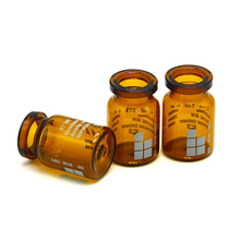 Hot selling reversible glass vial logo printed 10ml pharmaceutical glass vial for steroid