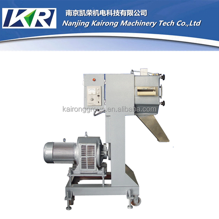 small plastic products making machine granulator line/ plastic pelletizer