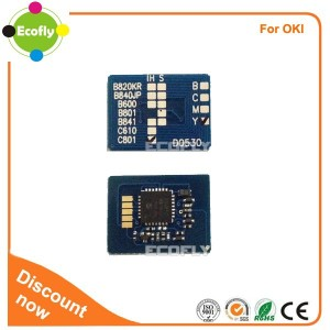 Good prices toner chips for OKI B820 840DN for oki toner reset chip laser printer parts