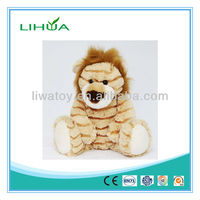 safari lion animal toys with hair