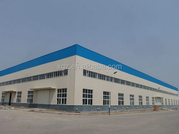 with mezzanin prefabricated portable warehouse