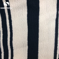 2019 hot selling jacquard knitting yarn dyed stripe cotton fabric for garment