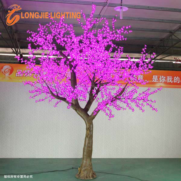 Charming Led Cherry Blossom Pink Solar