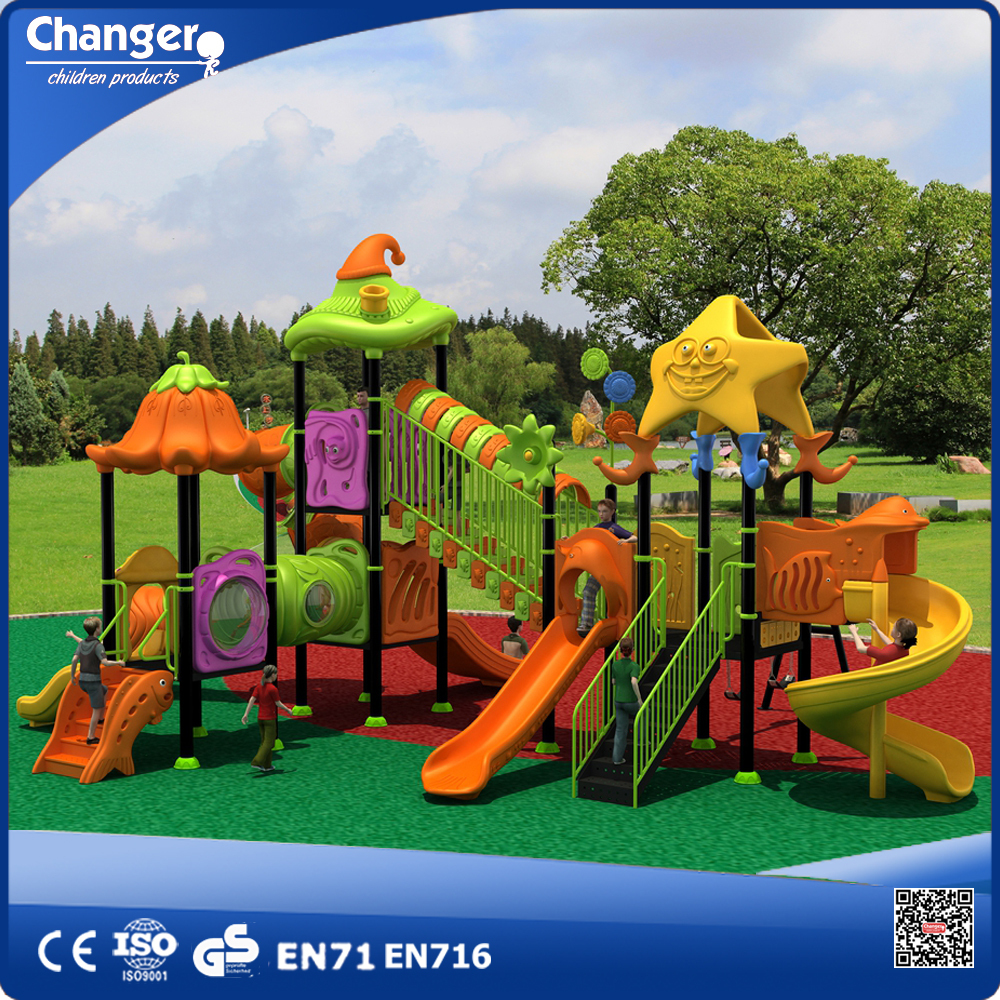 Children Outdoor Play Equipment Used Playground Slides For ...