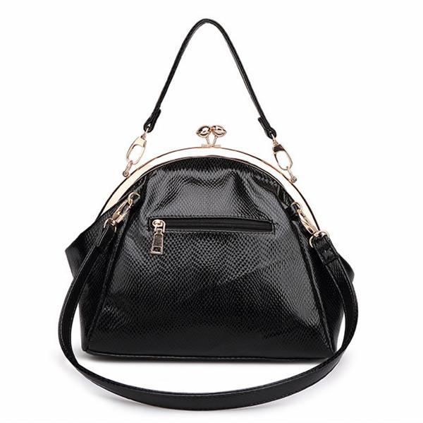 Kiss Lock Closure Handbags Brass Handbag Guangzhou