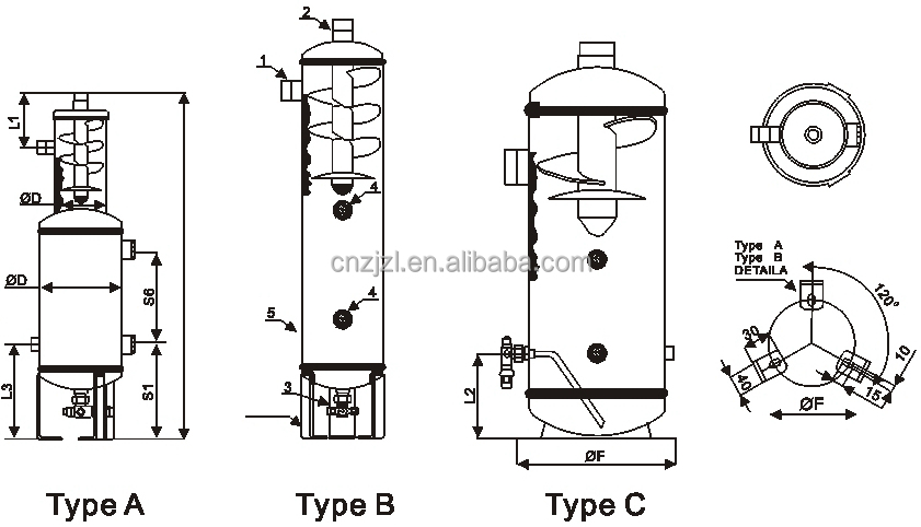 RESOUR Helical Oil Separator With Oil Reservoir