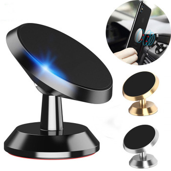 car magnet phone holder 360 degree air vent magnetic car dashboard phone holder For iphone x xs max xr 6 7 8 plus