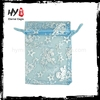 Brand new mini organza drawstring gift bag with high quality
