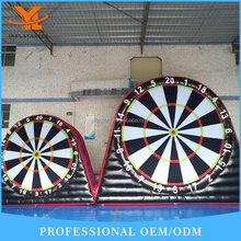 Inflatable Soccer Darts on Dubai Exhibition, Fashionable Foot Dart Board, Velcro Ball Games Party