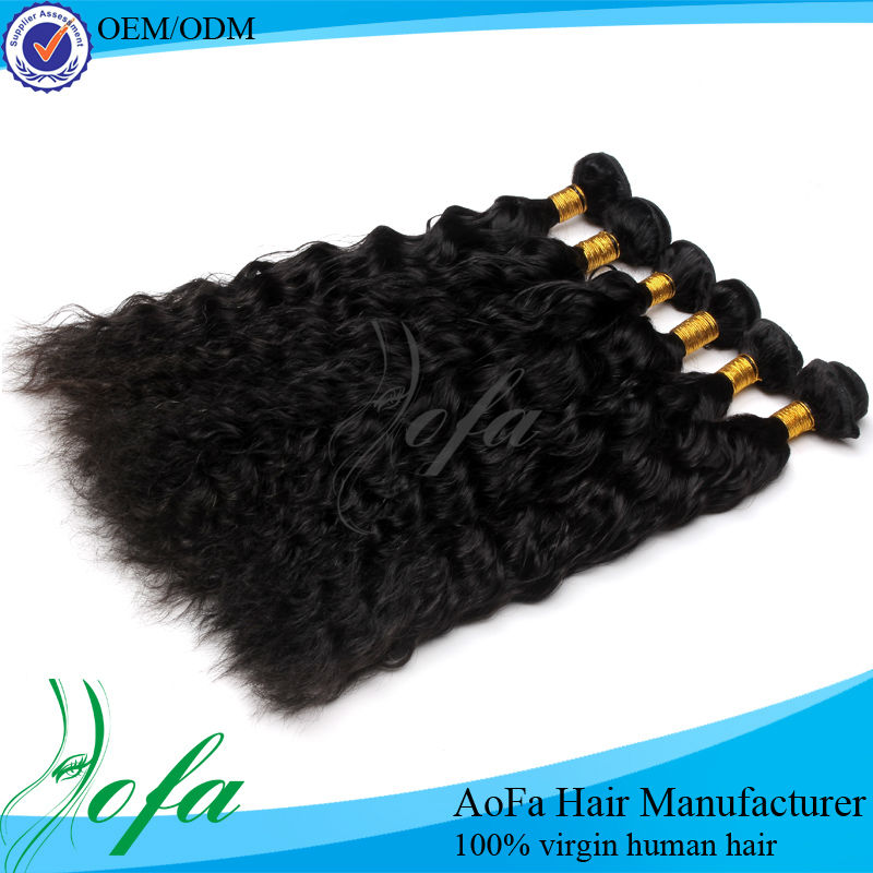 High temperature steam setting 100 percent human hair wigs