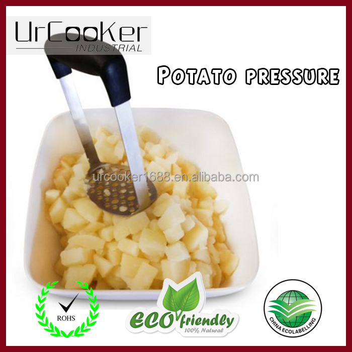 Stainless Steel Potato Masher for Smooth Mashed Potatoes