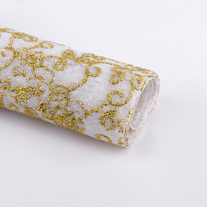 Korea DIY Handmade Gift Packaging Sprinkled Gold Non Woven Flower Wrapping Paper Yiwu