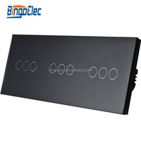 Touch screen wall light smart switch CE ROHS