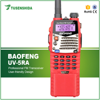 10W Walkie Talkie Long Range Baofeng UV5RA Plus with Extended Battery