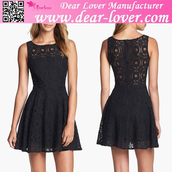 Fashion Korean Ladies Lace Dress Fashion Korean Ladies Lace Dress ...