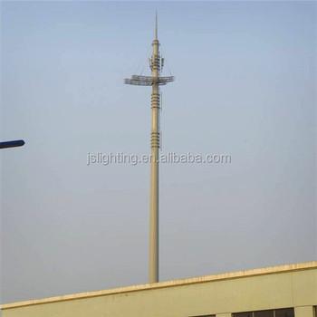 Radio Communication Tower Antenna Pneumatic Auto Locking Telescopic Masts -  Buy Antenna Mast And Communication Tower,Antenna Mast And Communication