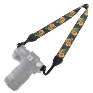 Original Factory PULUZ Retro Ethnic Style Multi-color Series Shoulder Neck Strap Camera Strap for SLR / DSLR Cameras