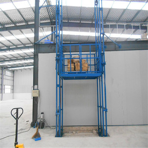 Industrial /Supermarket Warehouse Used Cargo Goods Lift Platform