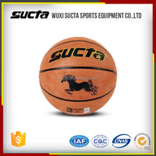 Microfiber cow leather cover Recreational Basketball ST2000 series