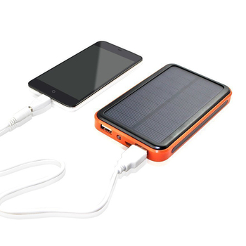 2017 Hot Style Waterproof Rohs Power Bank Solar Charger Instructions