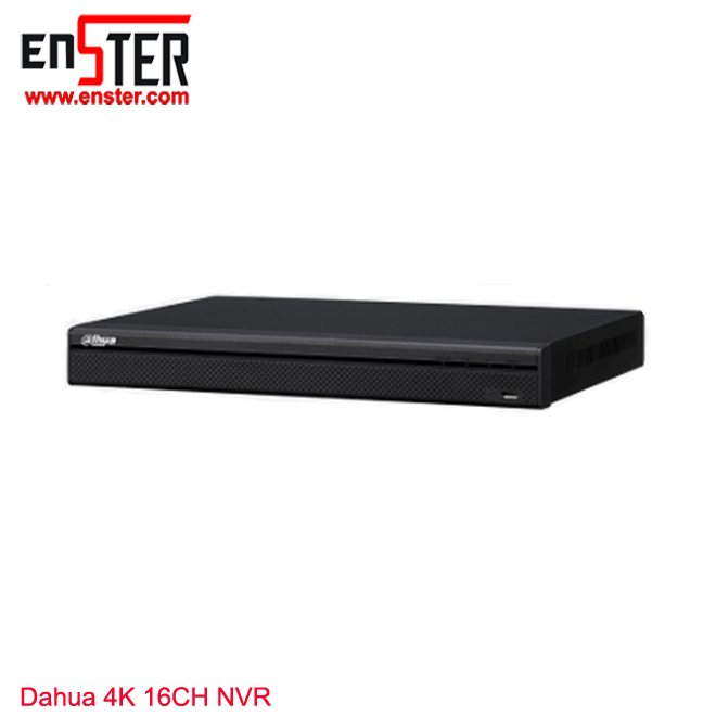 Shenzhen Enster H.265 Network Video Recorder Dahua Technology 4K Poe Nvr Dahua <strong>Dvr</strong> DHI-NVR4216-4KS2