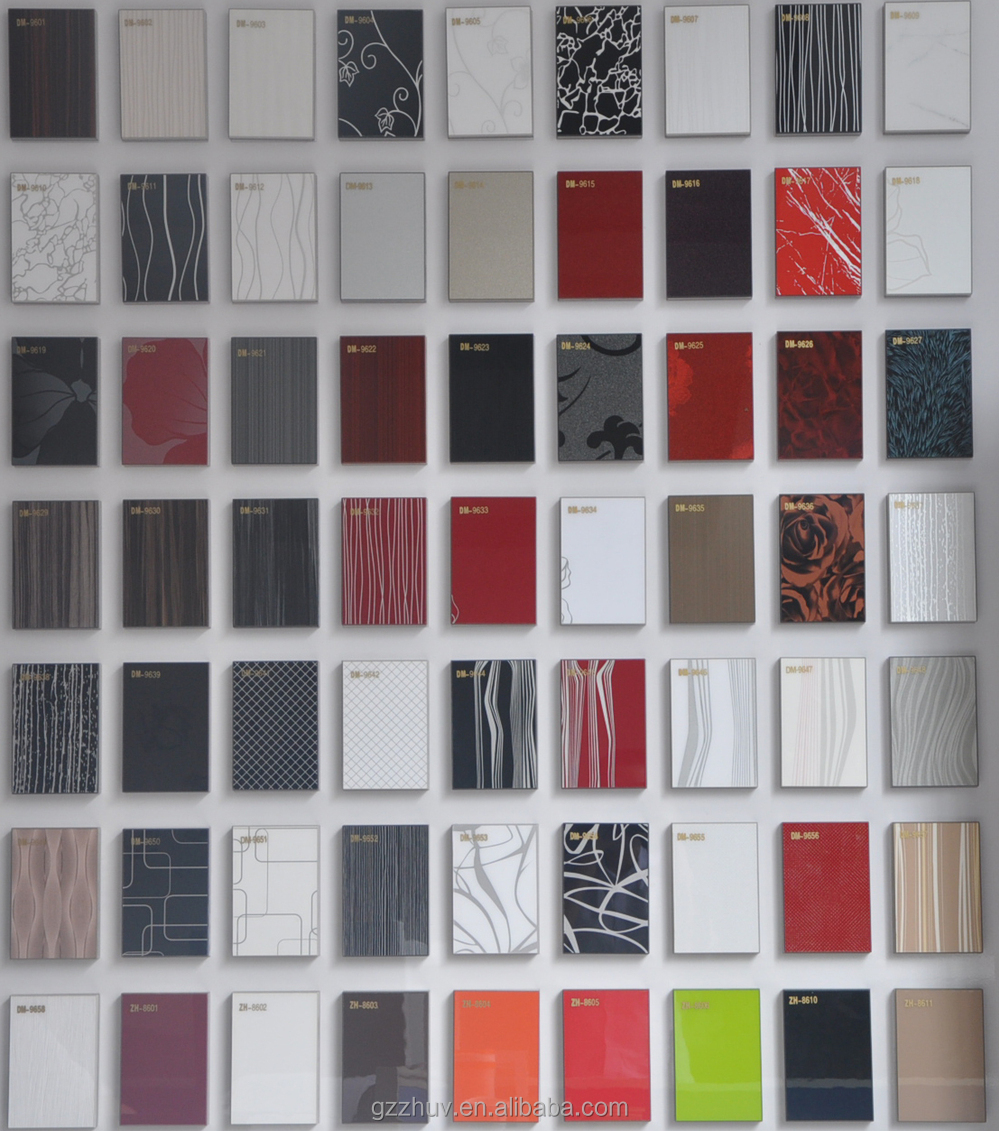 Guangzhou Factory Price Pattern Color Mica Acrylic Sheet