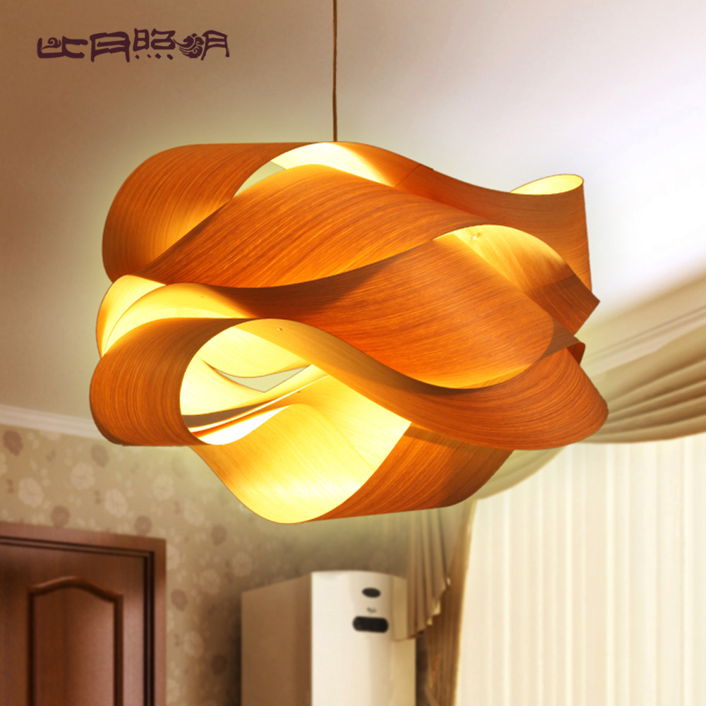 wood veneer lamp reviews online shopping wood veneer. Black Bedroom Furniture Sets. Home Design Ideas
