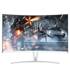 "DETAIK 24 Inch LCD Desktop Computer PC Monitor Full HD 24"" IPS Panel LED Curved Gaming Monitor"